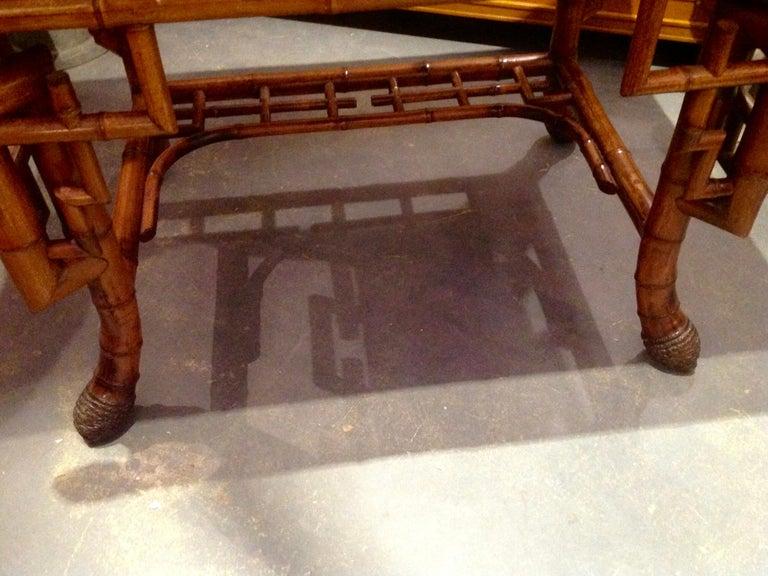 Superior 19th Century Bamboo Desk For Sale 14