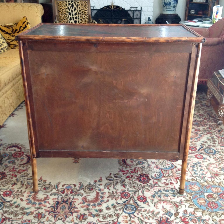 Superior 19th Century Bamboo Dresser For Sale 12