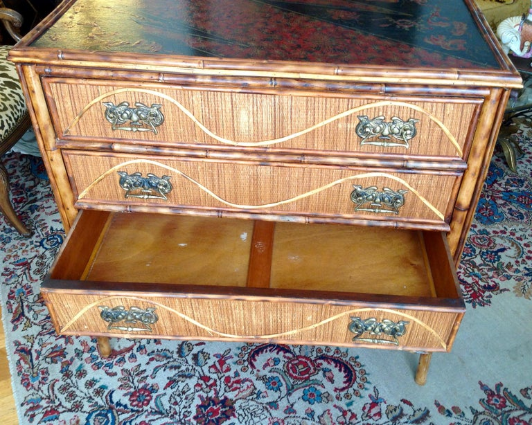 Superior 19th Century Bamboo Dresser For Sale 3