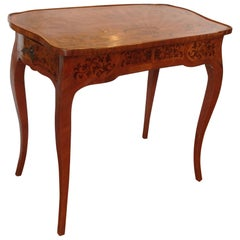 Superior 19th Century French Inlaid Vanity / Desk