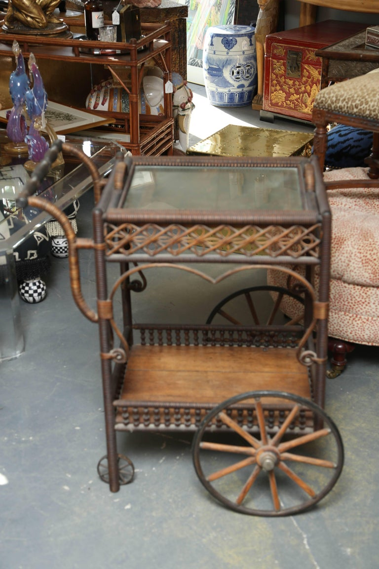 A remarkable cart- as if kept in a