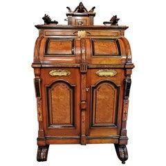 John D. Rockefeller Style Extra Grade Wooten Desk with Outstanding Provenance