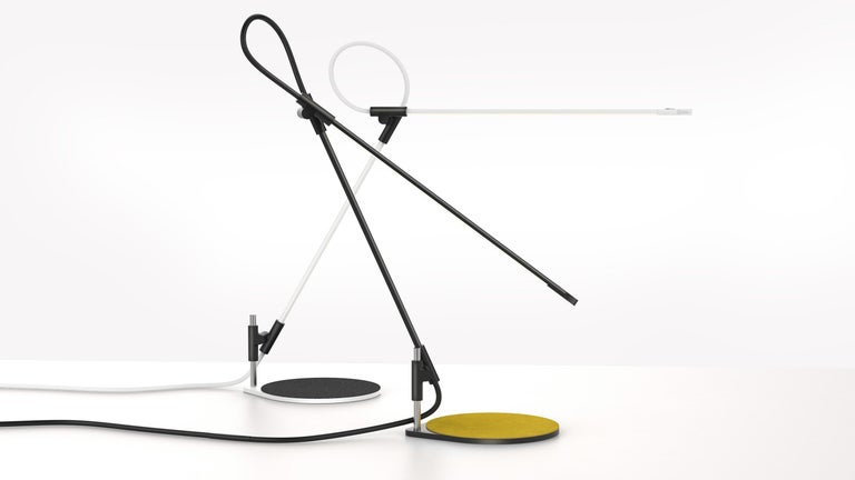 American Superlight Table Lamp in Black by Pablo Designs For Sale