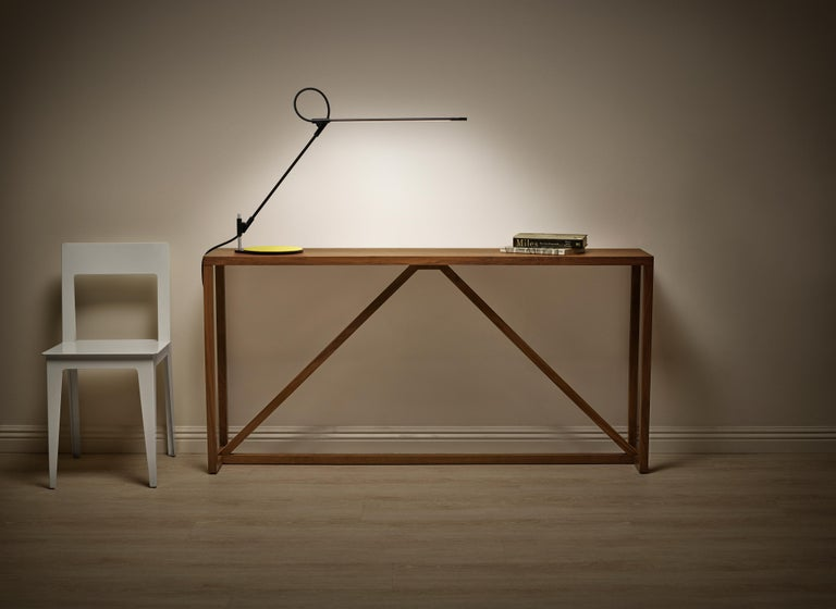Contemporary Superlight Table Lamp in Black by Pablo Designs For Sale