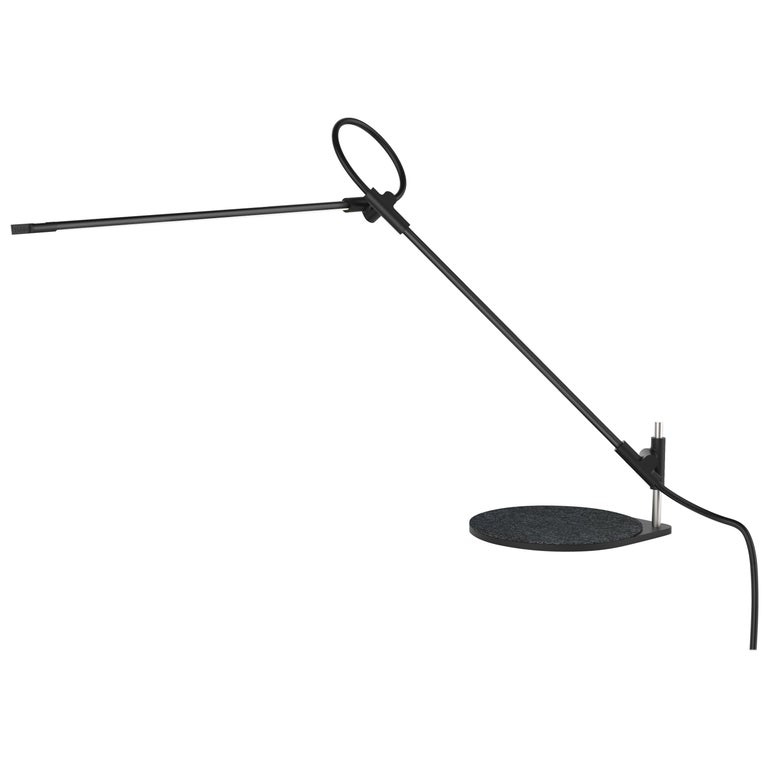 Superlight Table Lamp in Black by Pablo Designs For Sale