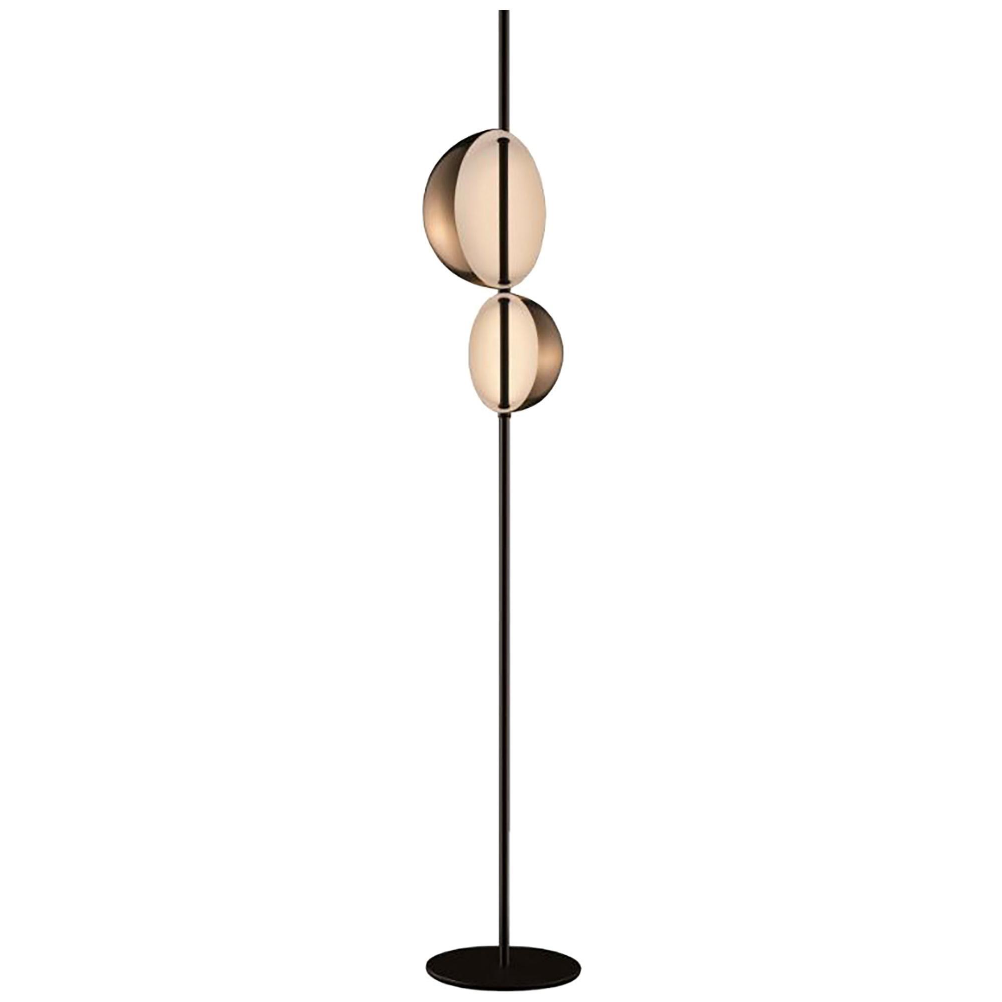 Superluna Floor Lamp by Victor Vasilev for Oluce