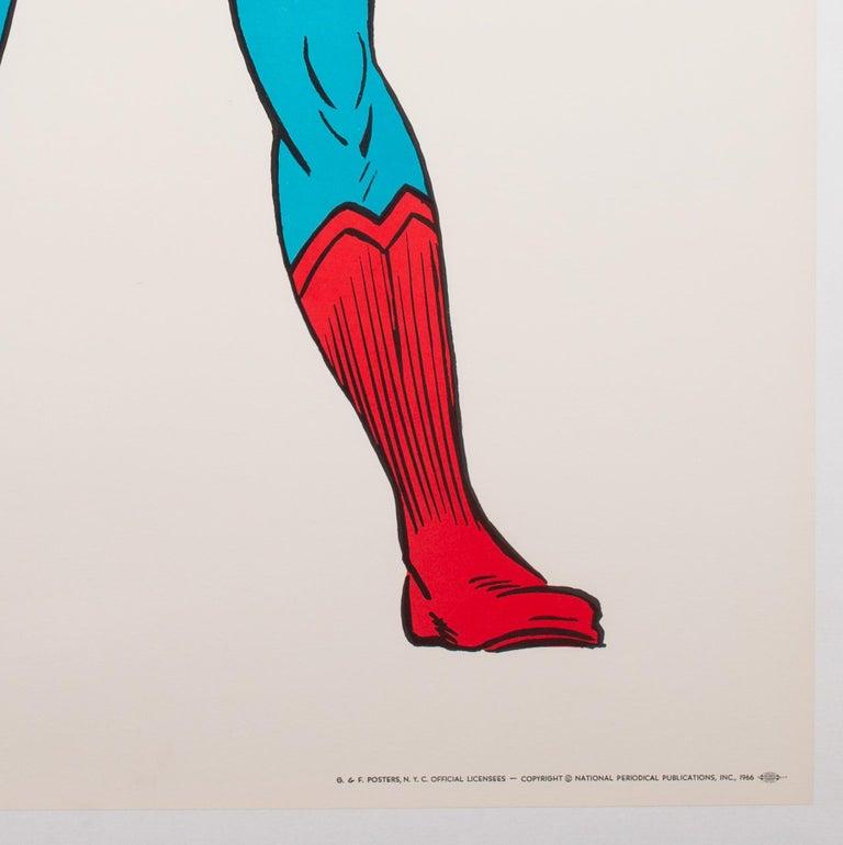 American Superman Vintage 1966 US Film Movie Poster