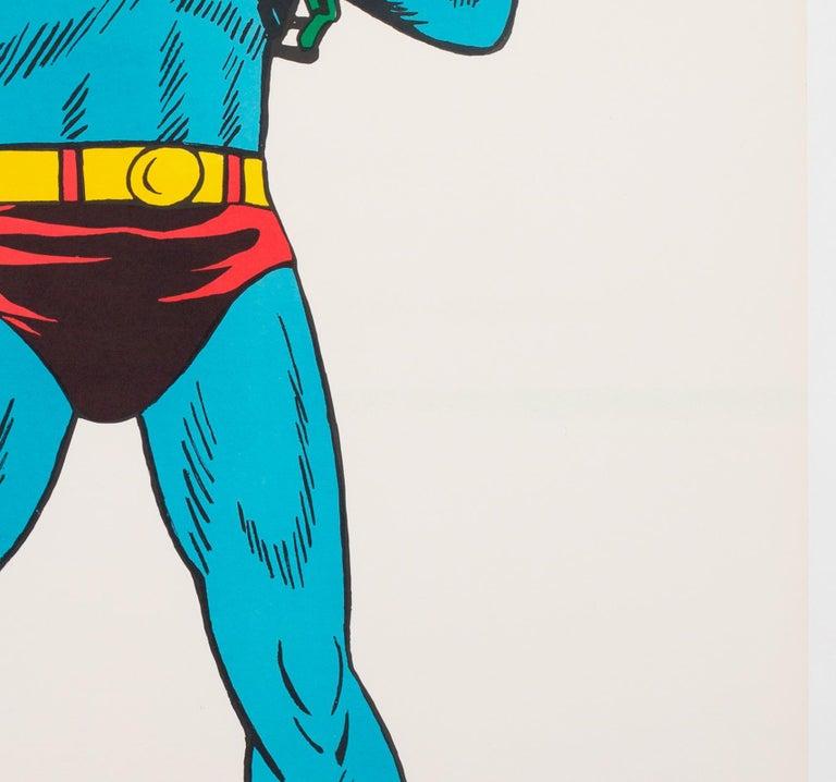 20th Century Superman Vintage 1966 US Film Movie Poster