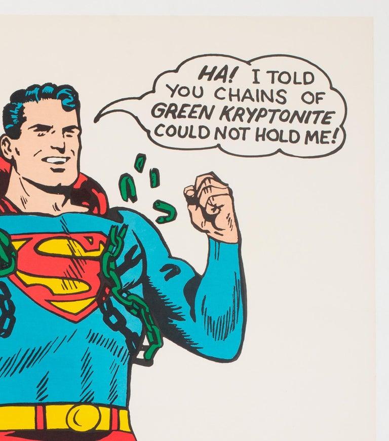Superman Vintage 1966 US Film Movie Poster 1