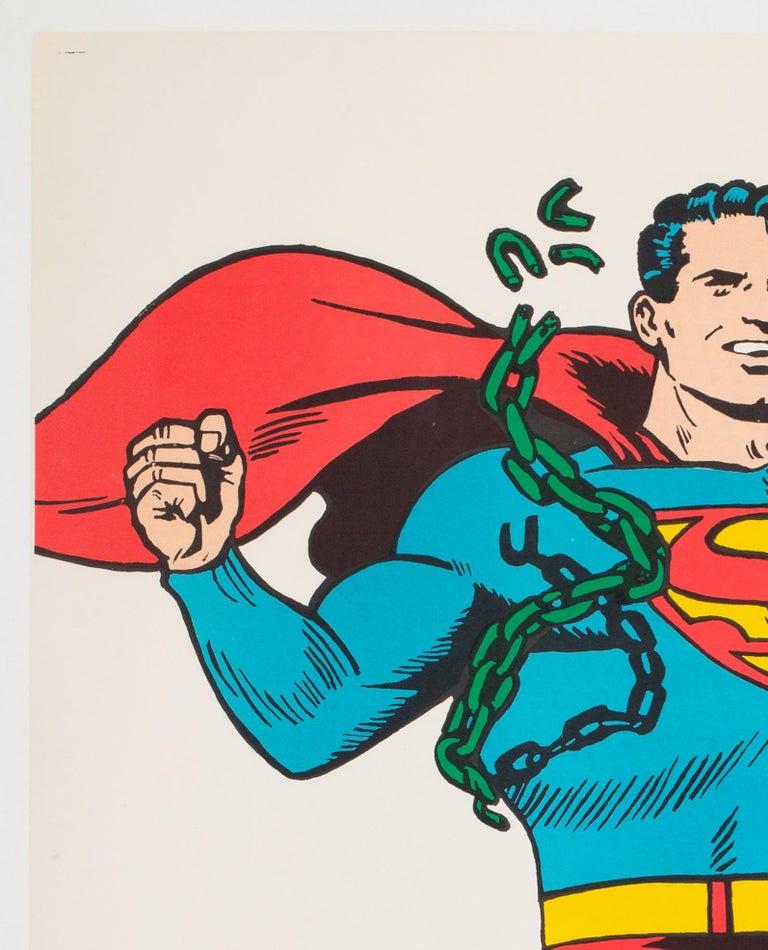 Superman Vintage 1966 US Film Movie Poster 2