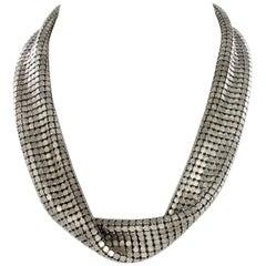 Supersoft Necklace in 18 Karat White Gold