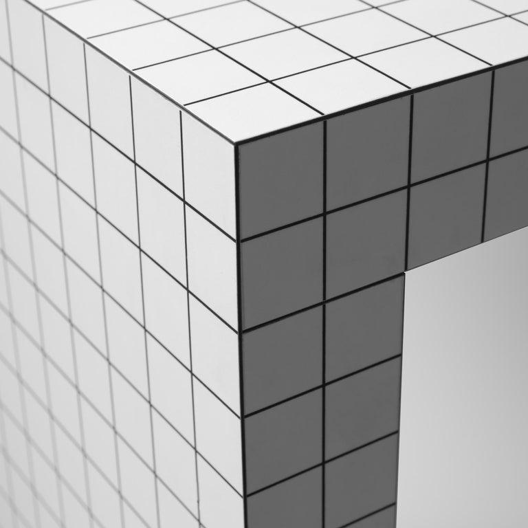 Minimalist Superstudio for Zanotta Console Table 'Quaderna' For Sale