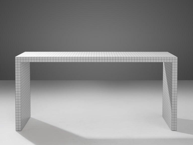 Italian Superstudio for Zanotta Console Table 'Quaderna' For Sale