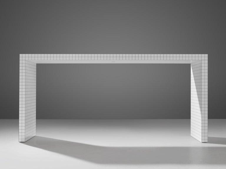 Plastic Superstudio for Zanotta Console Table 'Quaderna' For Sale