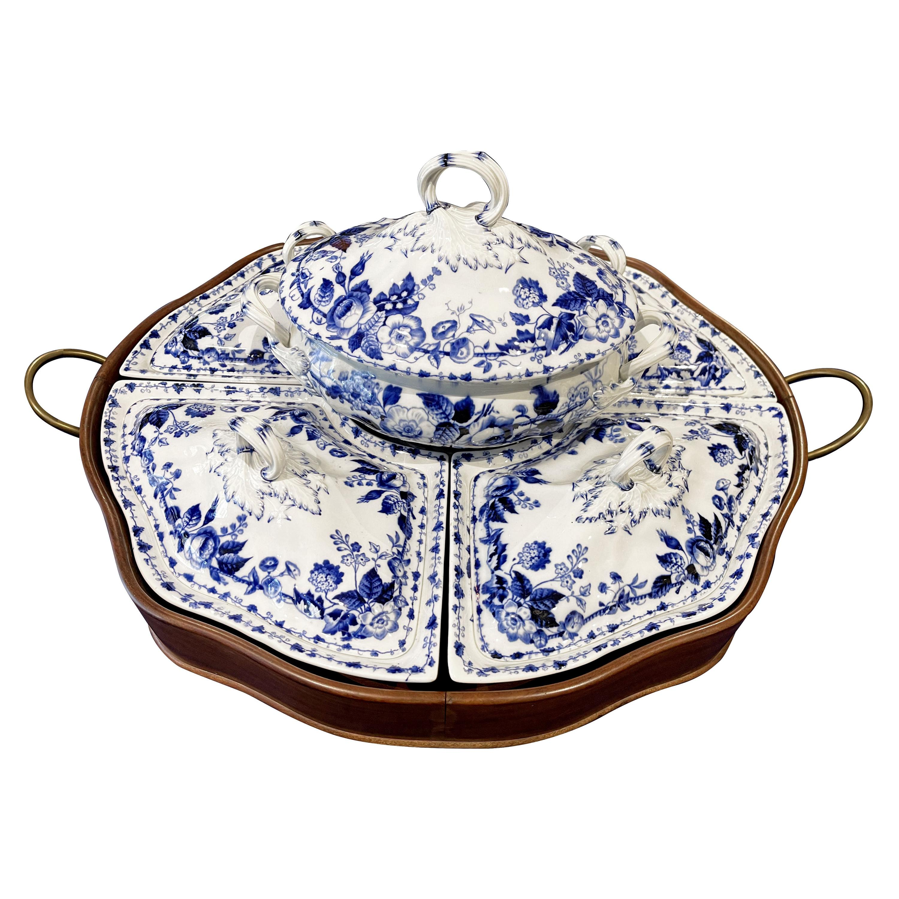 Supper Set Complete from Creil&Montereau French 19th Century Incredible Quality