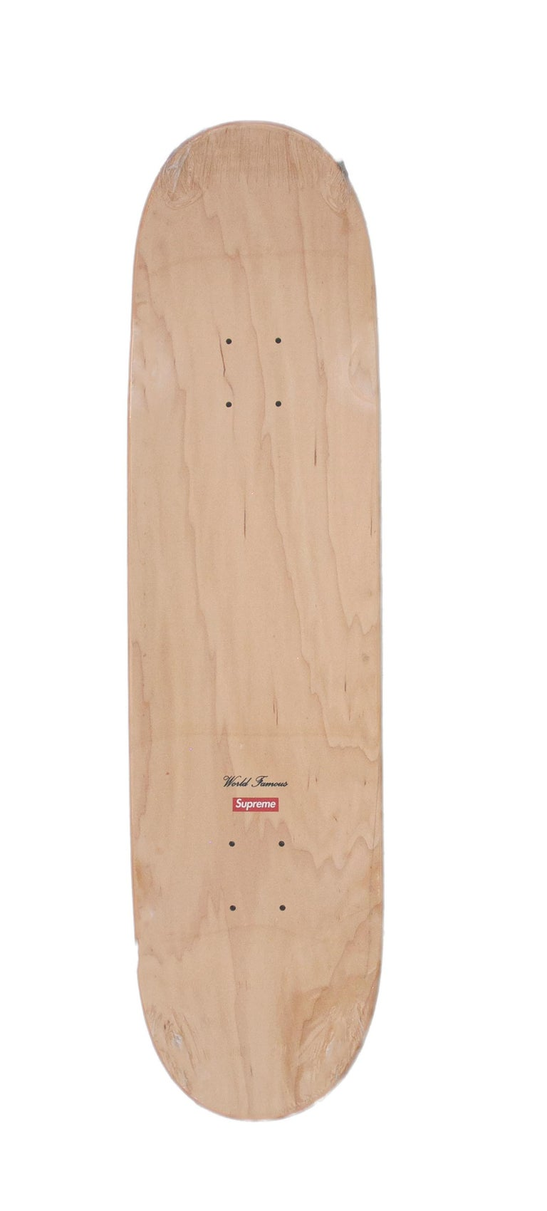 Supreme Bling Skateboard Deck Gold - Year 2013 - Pop Art Mixed Media Art by Supreme