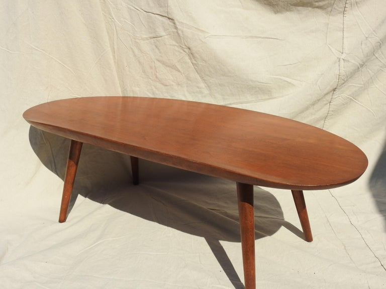 American Surfboard Coffee Table by Russel Wright For Sale
