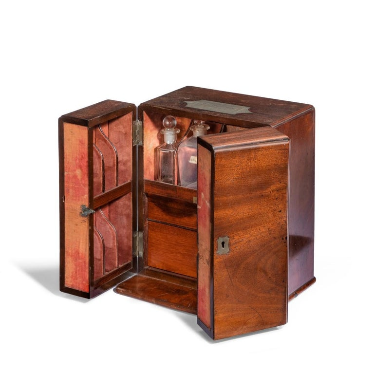 Early 19th Century Surgeon Beatty's Medicine Chest, 1803 For Sale