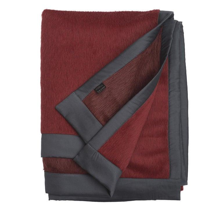 Italian Suri Alpaca Blanket For Sale