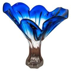 Surreal Vase, Makora Krosno, Poland, 1960s