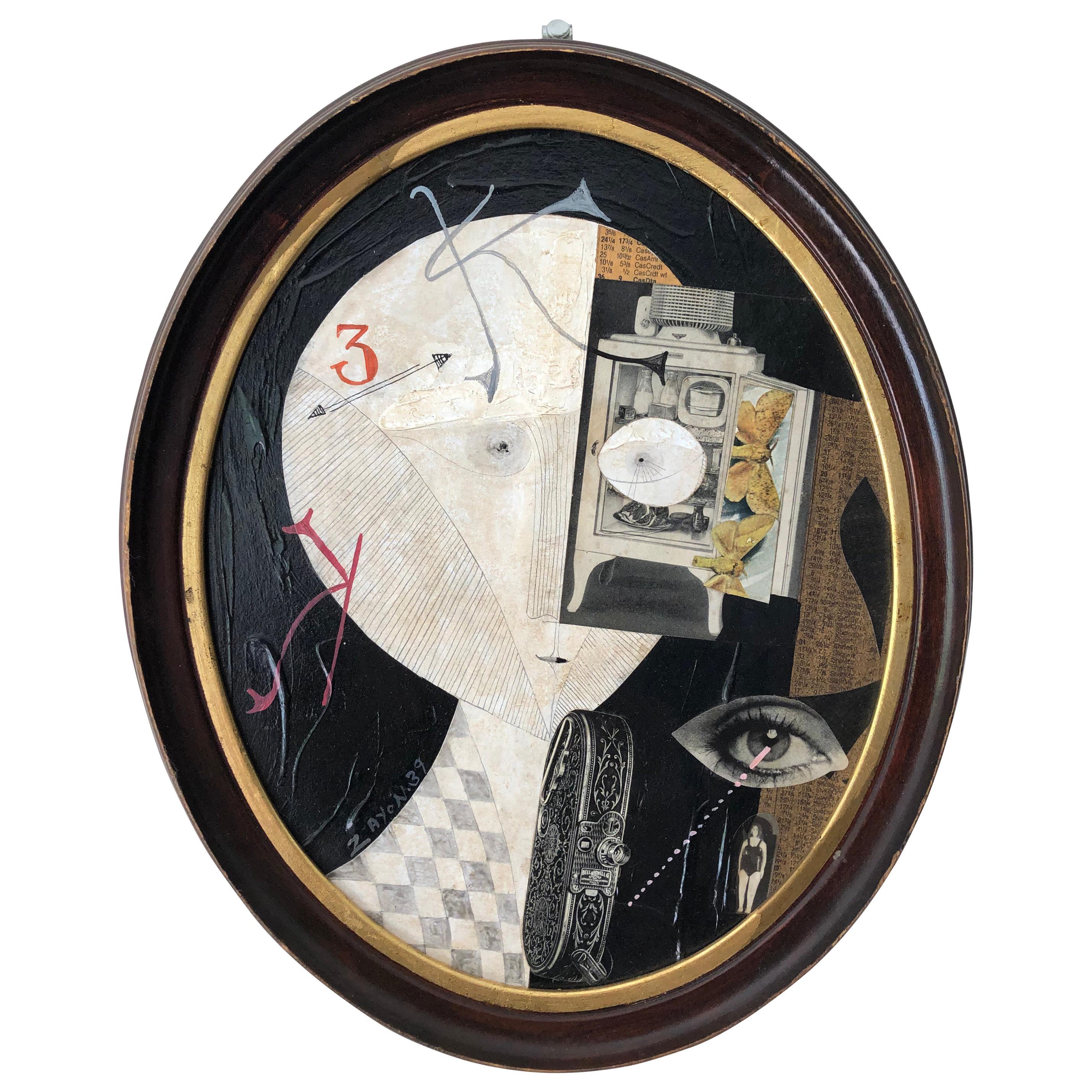 """""""Surrealism Montage"""" by Seymour Zayon, 1939"""