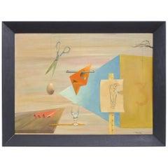 Surrealist Acrylic Painting by Maud Ainslie