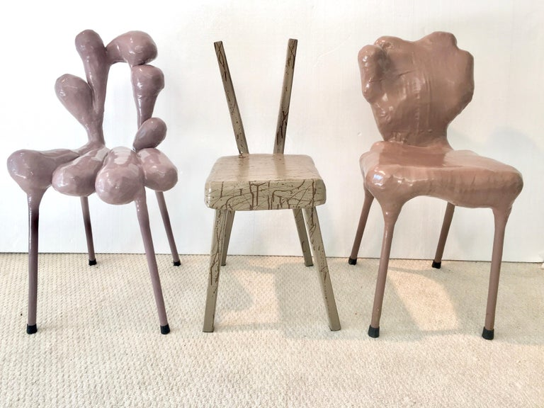 Modern Surrealist Chairs by Tessa Koot For Sale