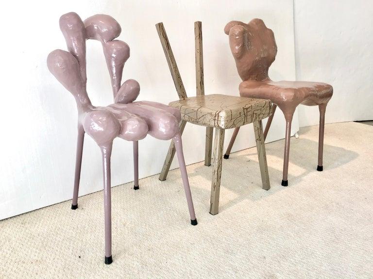 Dutch Surrealist Chairs by Tessa Koot For Sale