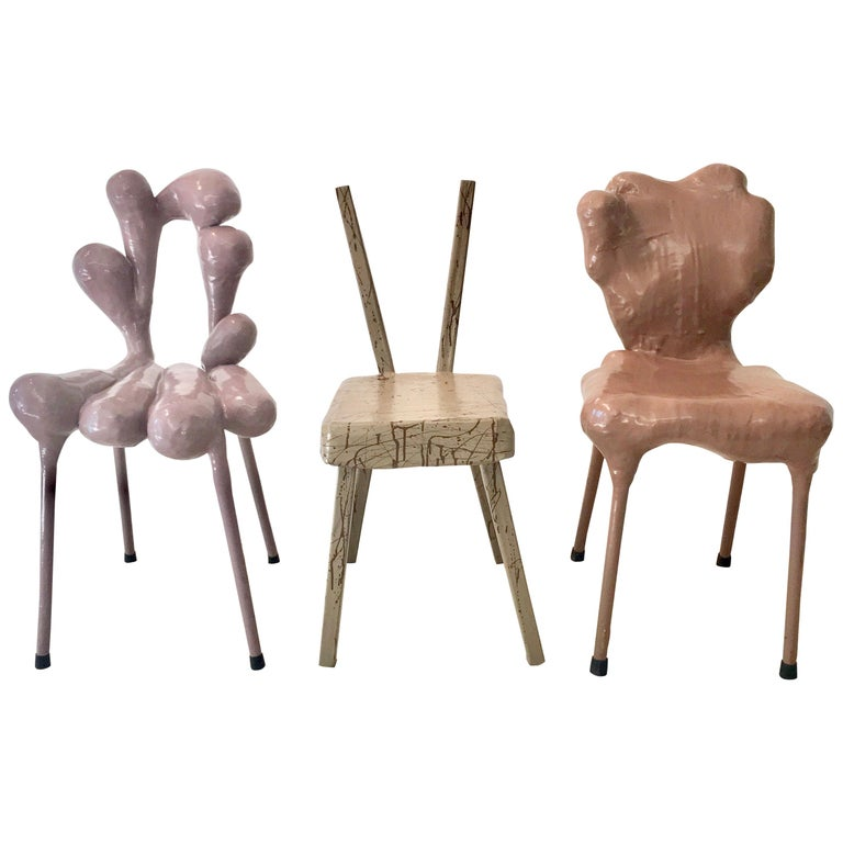 Surrealist Chairs by Tessa Koot For Sale