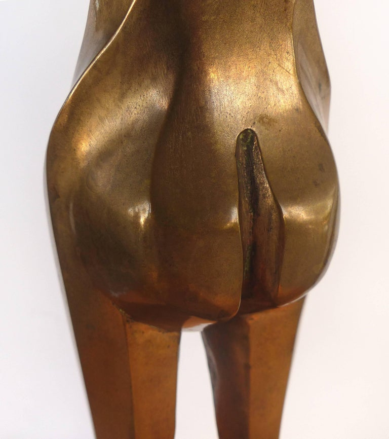 Surrealist Figurative Bronze Signed Zuñiga and Dated, 1977 For Sale 5