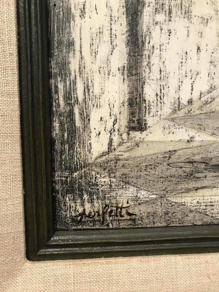 """Italian Surrealist Painting """"Solitude"""" by Giorgio Perfetti For Sale"""
