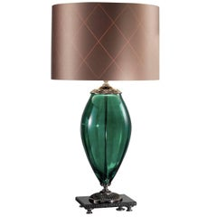 Surya Green Table Lamp