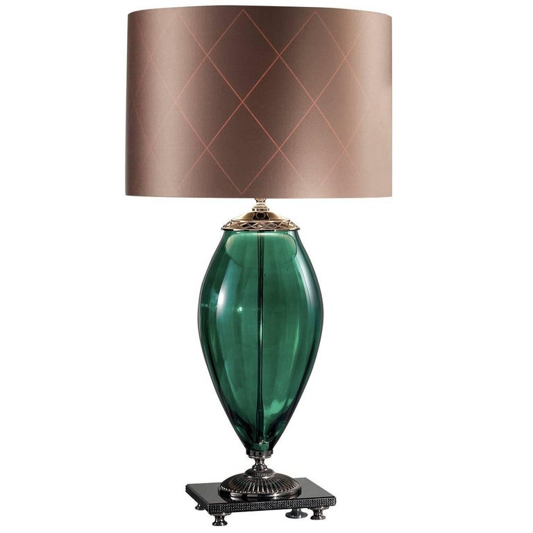 Surya Green Table Lamp For Sale