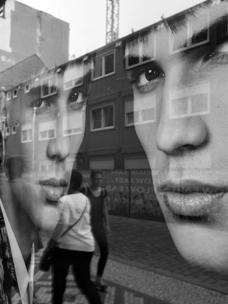 Susan Aurinko Black and White Photograph - Street Smart, Prague