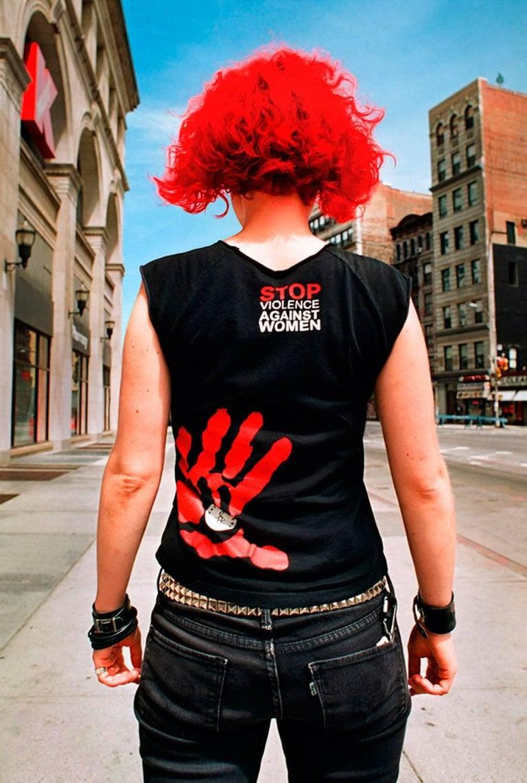 Susan Barnett Figurative Photograph - Stop Violence