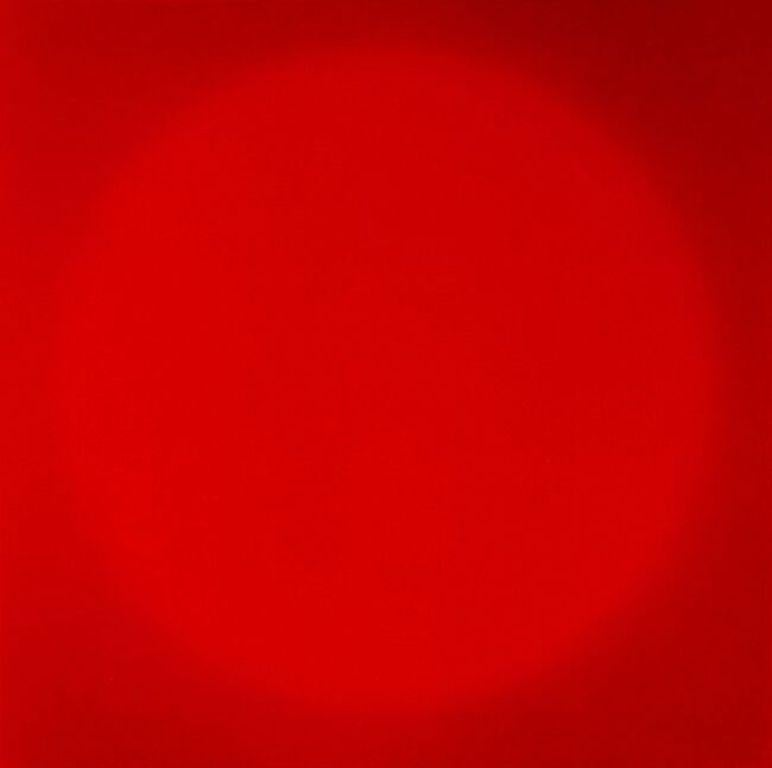 Red Sun -  Limited Edition Abstract Color Photograph - Fine Art Digital Print
