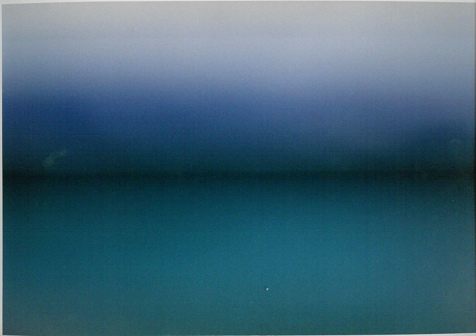 Seascape (Blue) - Limited Edition Abstract Color Photography - Digital Print
