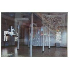Susan Dallas-Swann Equinox '90 Exhibit Installation Light Photograph