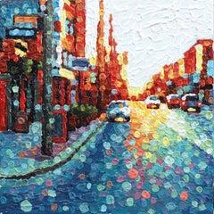 Believing Is Seeing  -  Original Pointillist Textured Artwork