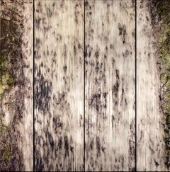 THE FALLS, planks of wood, hyper-realism, natural colors