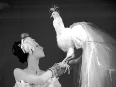 Lady and Her Bird, Photograph, Archival Ink Jet