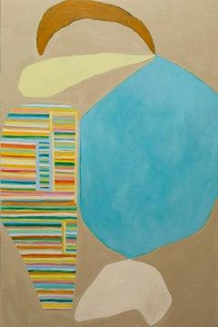 """Big Seed"" - color block painting - patterns - Alex Katz"