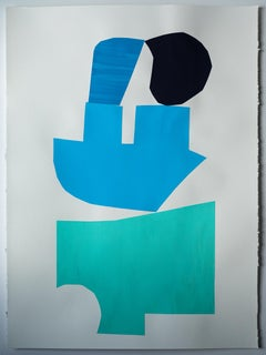 """""""From Memory No. 4"""" - color block collage - patterns - Henri Matisse"""