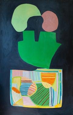 """Wildfire"" - color block painting - patterns - Alex Katz"