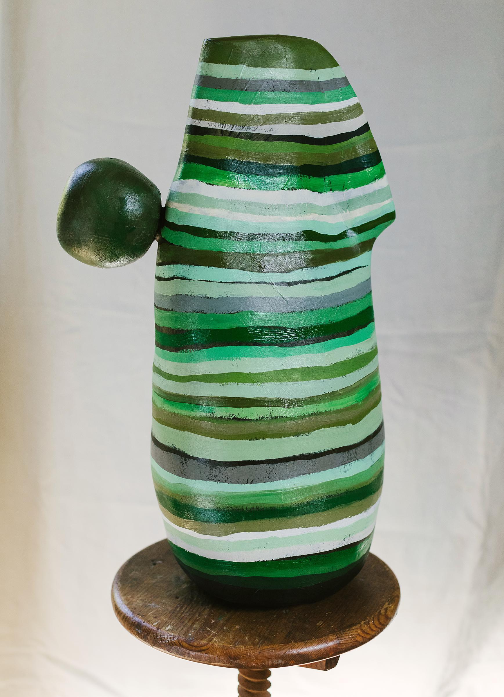 """My Friend"" - abstract sculpture - Barbara Hepworth"