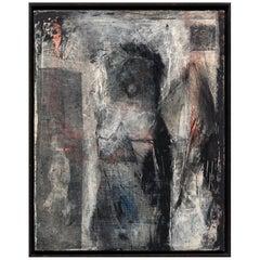 Susan Harlan Abstract Modern Art Collage Painting