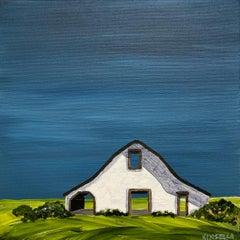 Barn II by Susan Kinsella, Landscape Acrylic on Canvas Painting