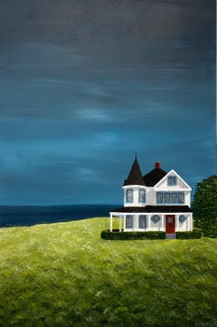 Boxwood Cottage Susan Kinsella, medium vertical contemporary landscape