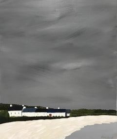 Bright Door by Susan Kinsella, medium vertical contemporary landscape