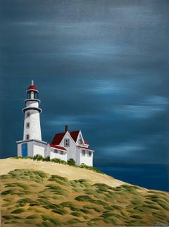 Bright Horizons by Susan Kinsella, Landscape Acrylic on Canvas Painting